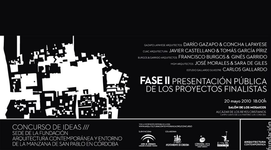 Fundación Arquitectura Contemporanea - Gallardo Llopis Arquitectos