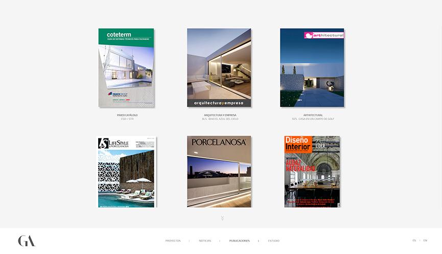 Nueva web - Gallardo Llopis Arquitectos
