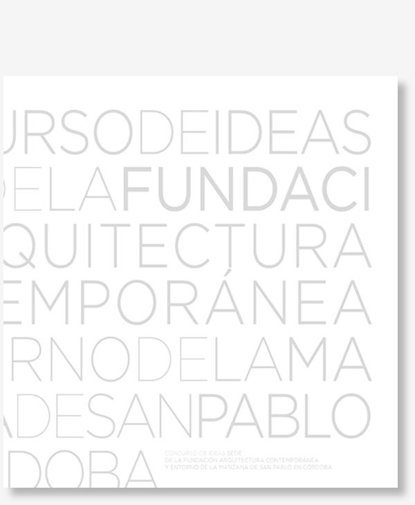 Libro Fundación Arquitectura Contemporanea - Gallardo Llopis Arquitectos