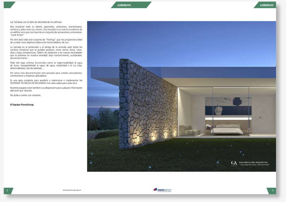 Parex Catalogo - VMC + STR - Interior 01