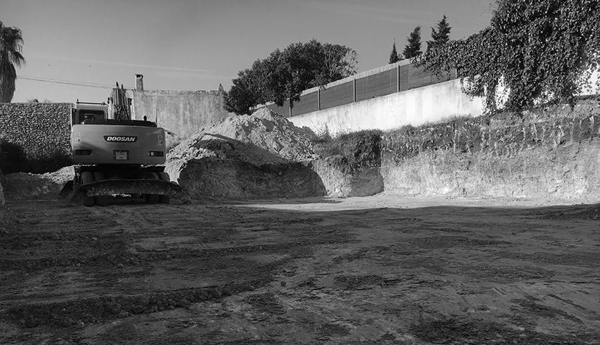 Inicio de obra en Santa Gertrudis (Ibiza) - Gallardo Llopis Arquitectos