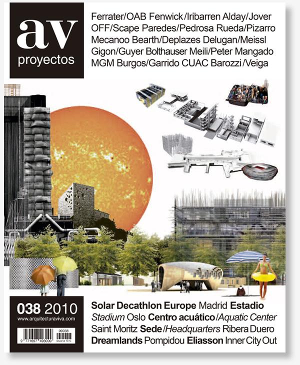 Publicacion en AV Proyectos - Gallardo Llopis Arquitectos