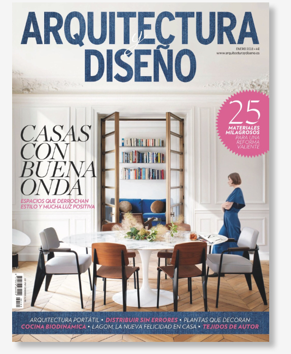 Publicación en la revista Arquitectura y Diseño - Casa sobre los olivos - Gallardo Llopis Arquitectura