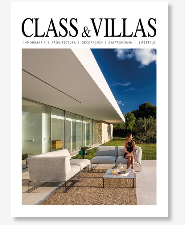Publicación en la revista Class & Villas - Casa sobre los olivos - Gallardo Llopis Arquitectos