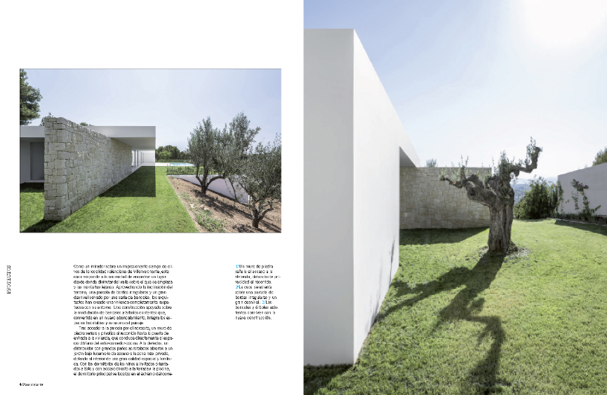 Diseño Interior - Casa sobre los olivos - Gallardo Llopis Arquitectos