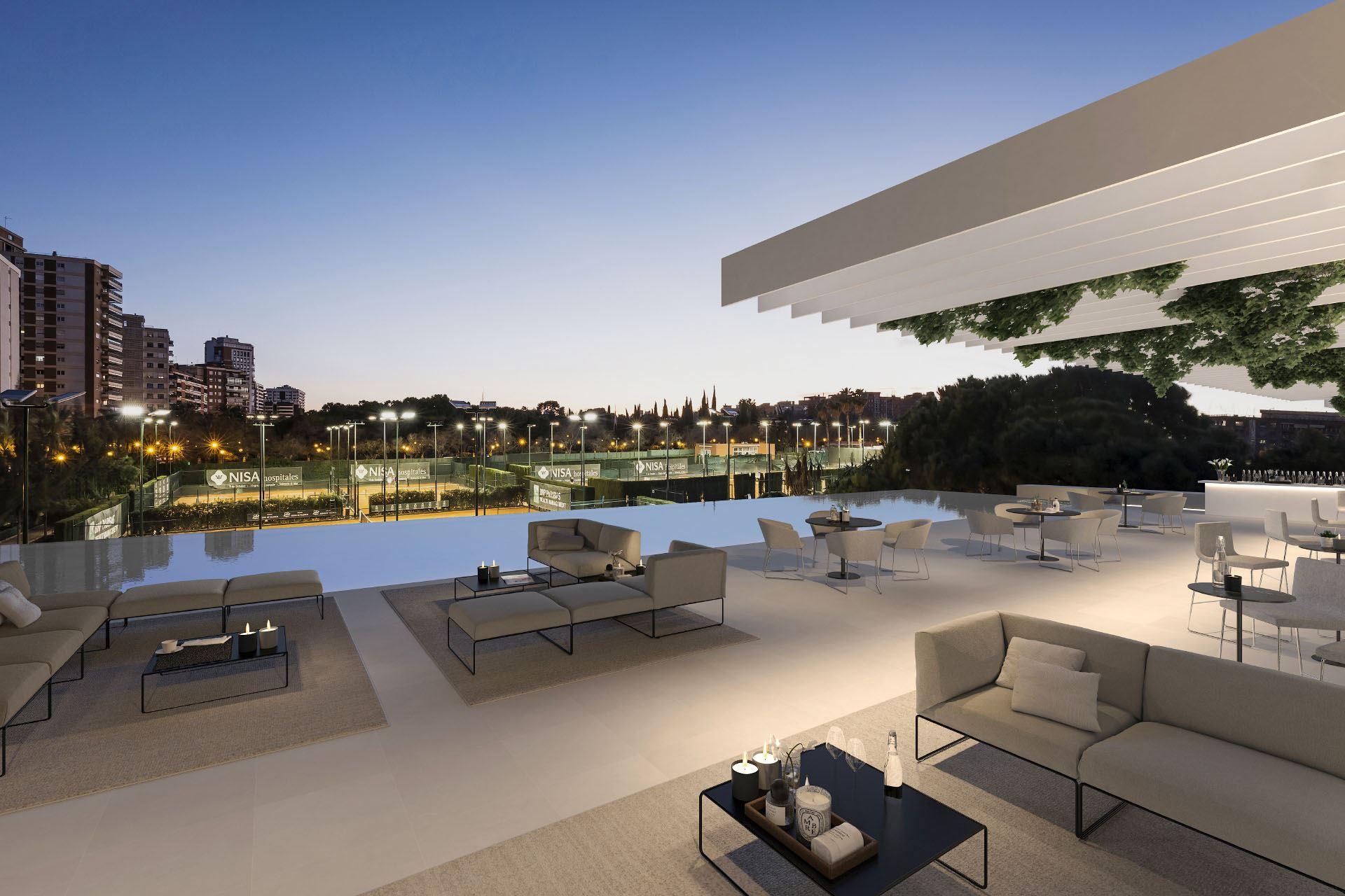 Tennis Club Project - Gallardo Llopis Architecture