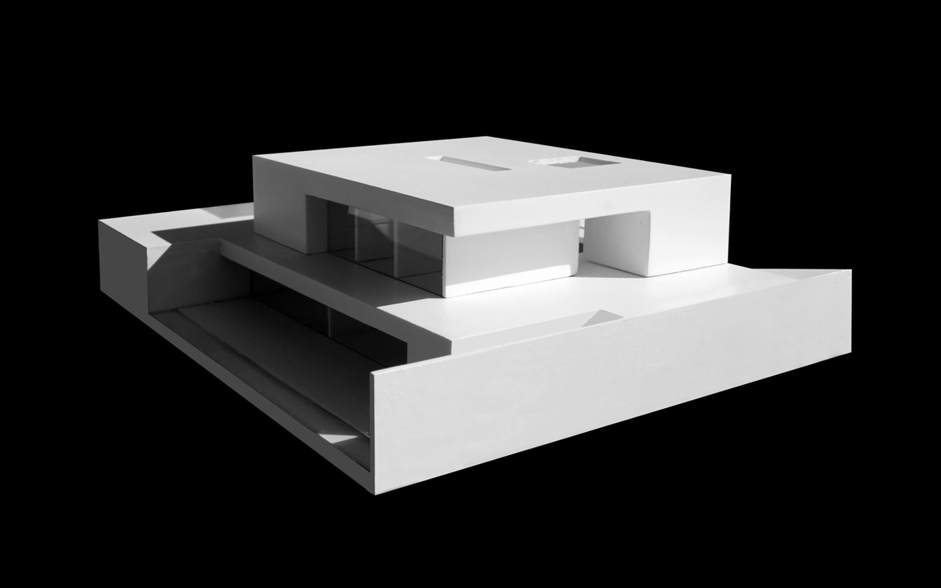 Maqueta diseño casa en Alicante