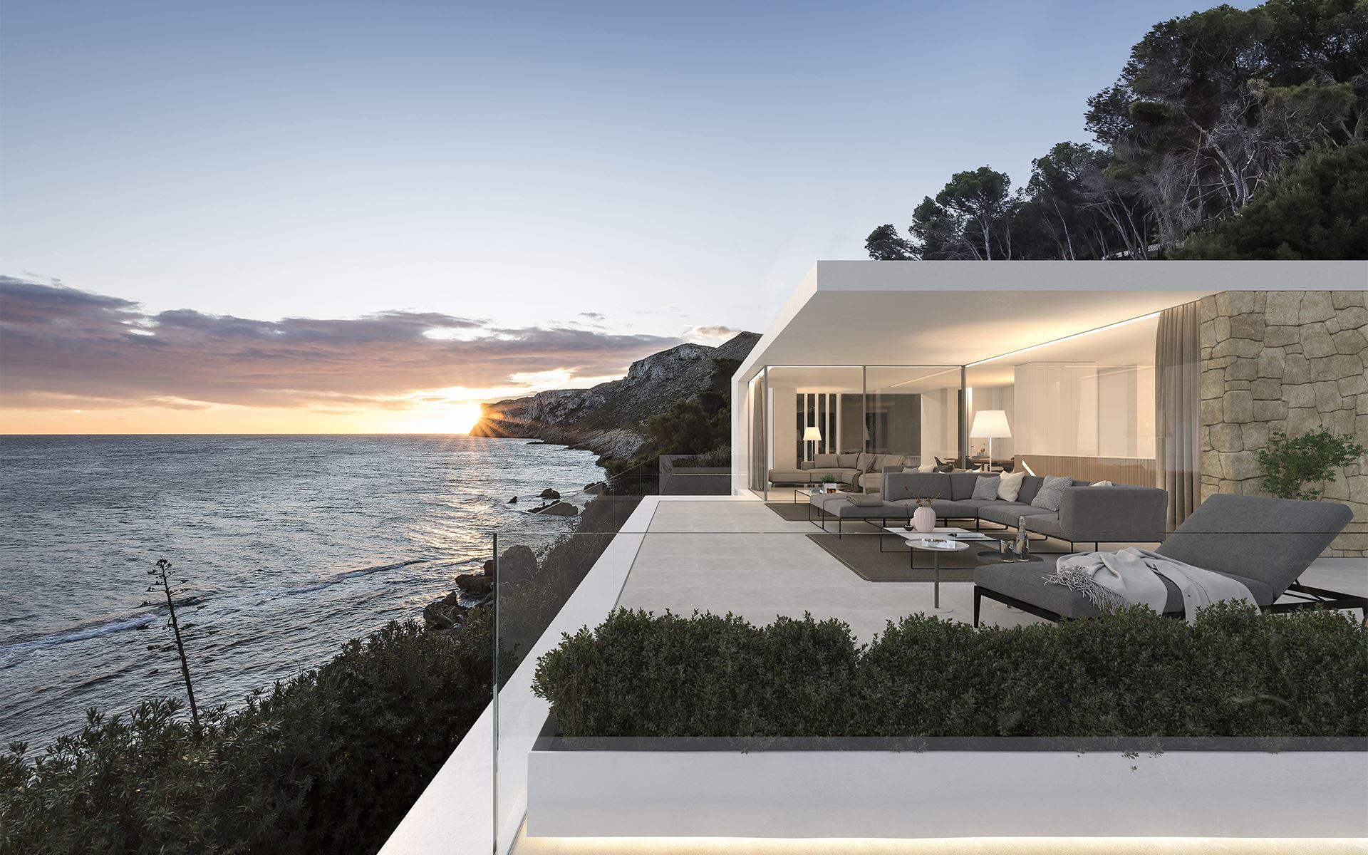 Arquitectura casa en Denia