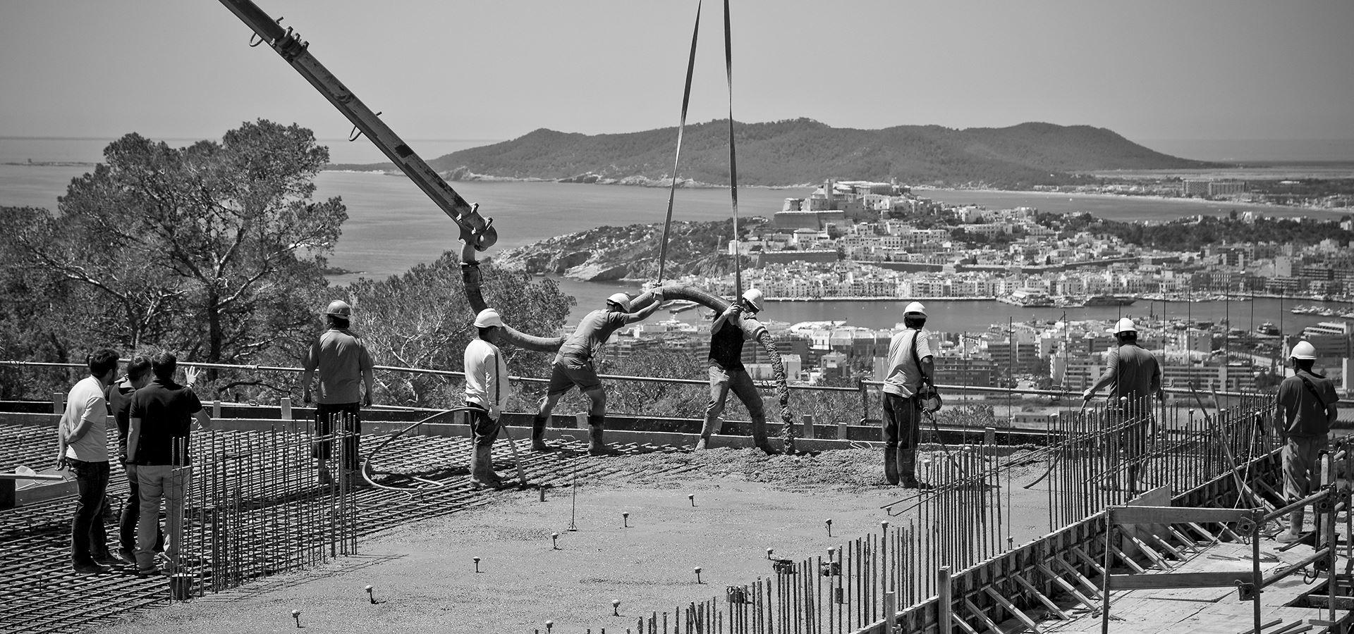 Construccion de casa en Ibiza