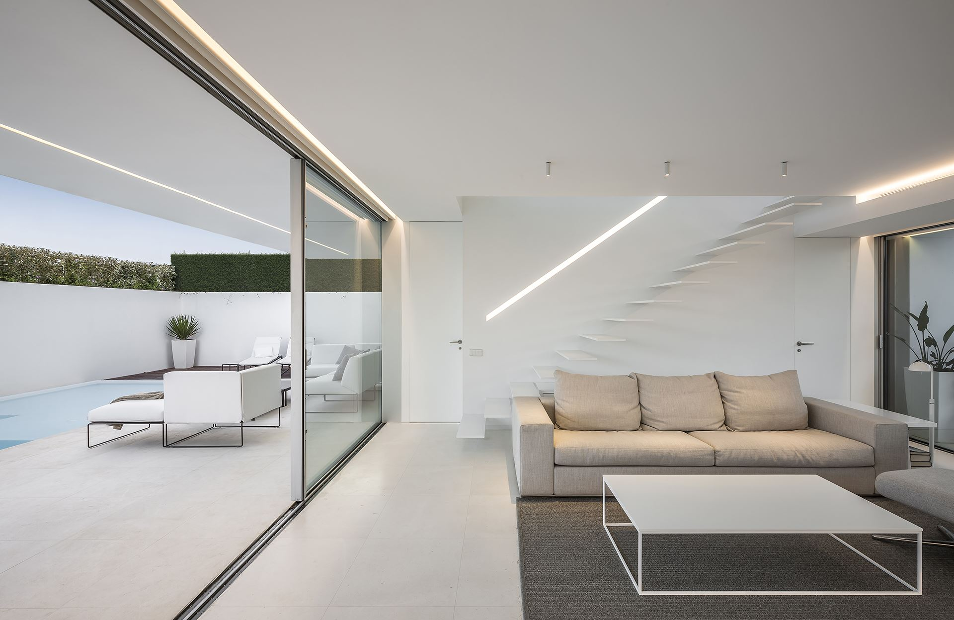 Contemporary Interiors - Gallardo Llopis Architect