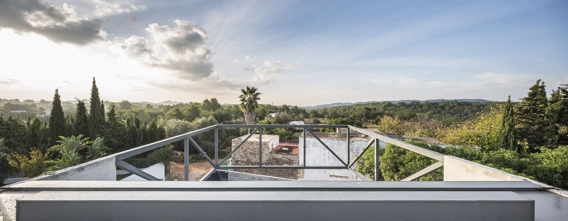 Arquitectos Ibiza - Piscina Casa Ses Torres