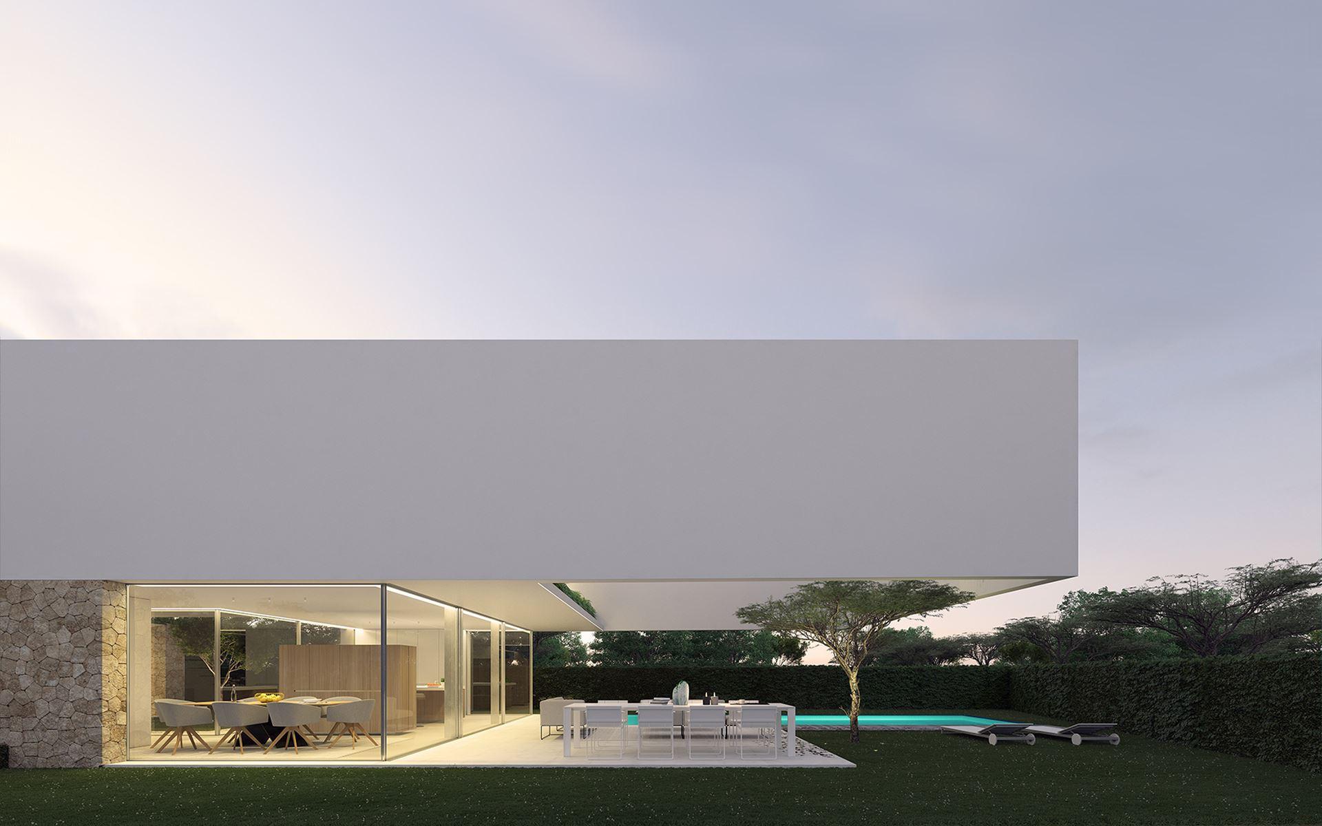 Arquitecto Ibiza - Casa Santa Gertrudis