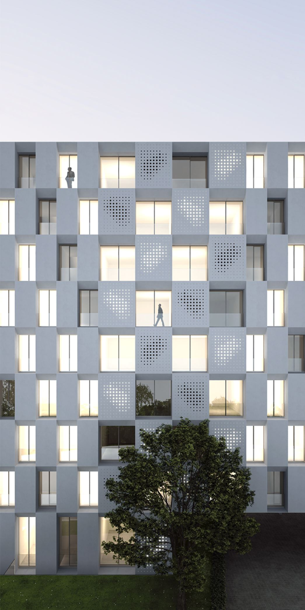 Housing development in Madrid - Gallardo Llopis Architects