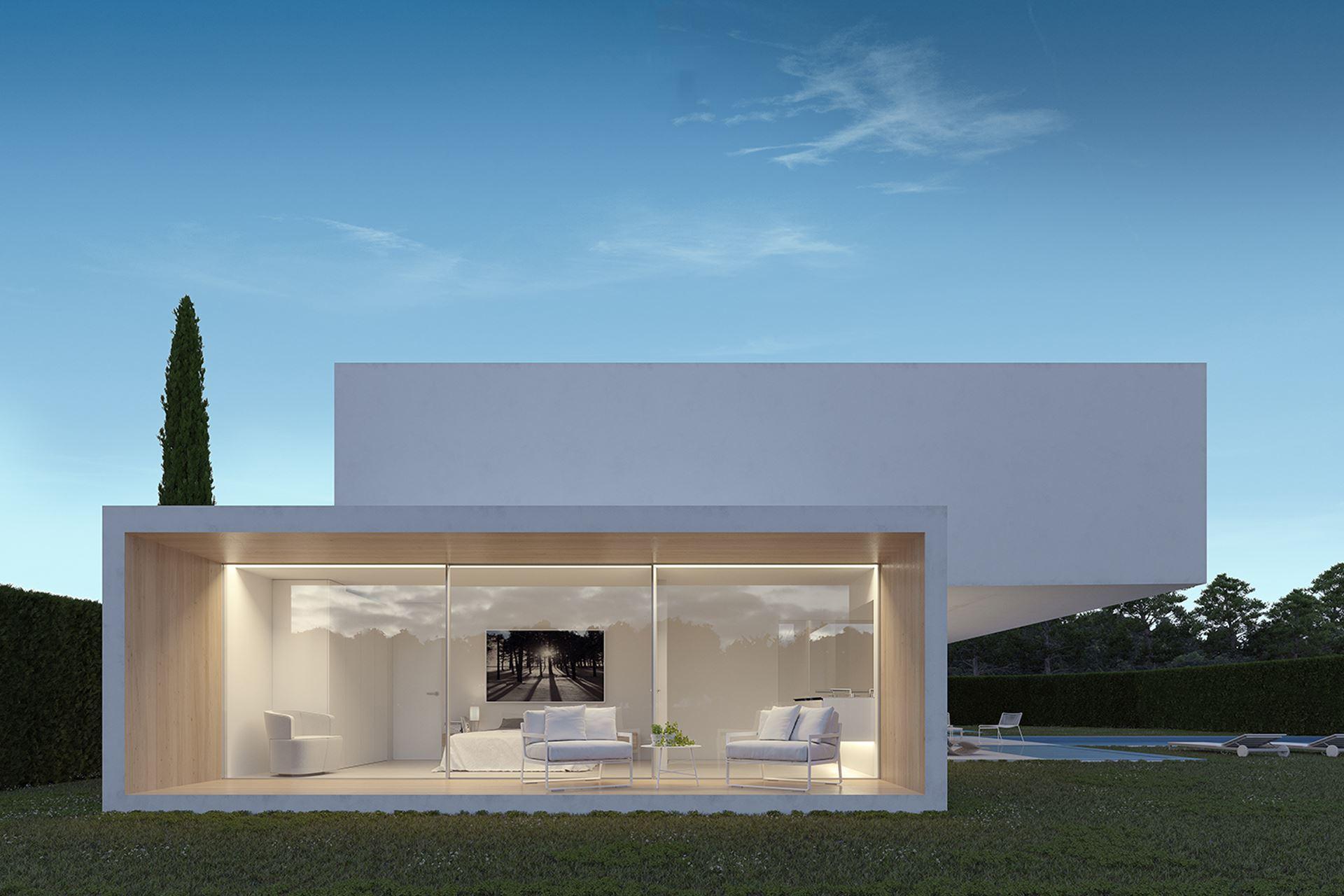 Diseño casa en Rocafort