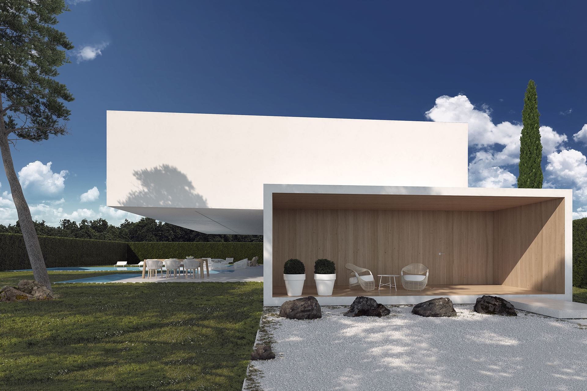 House in Rocafort - Gallardo Llopis Architecture