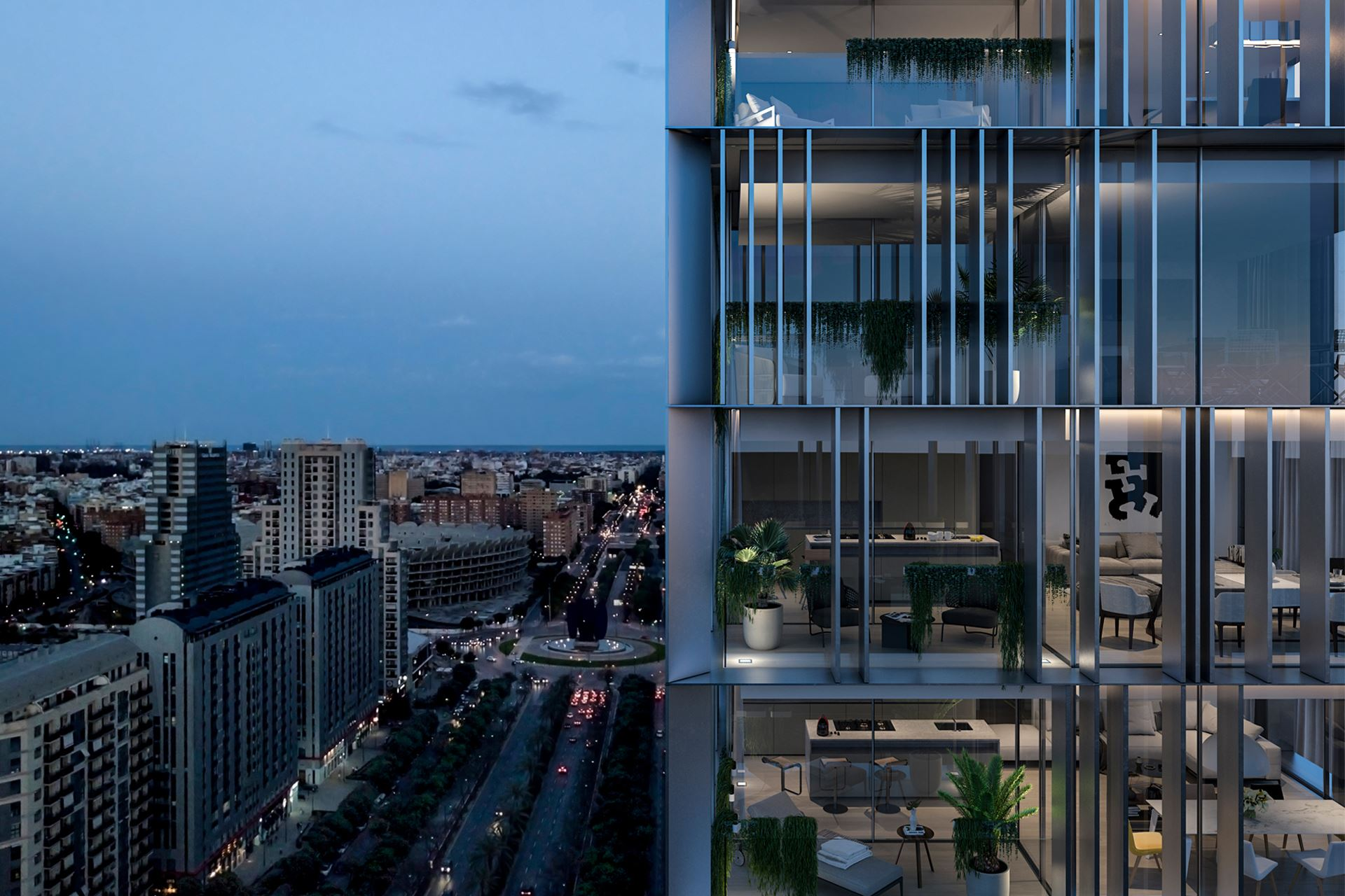 Residential Tower design Valencia - Gallardo Llopis Architect