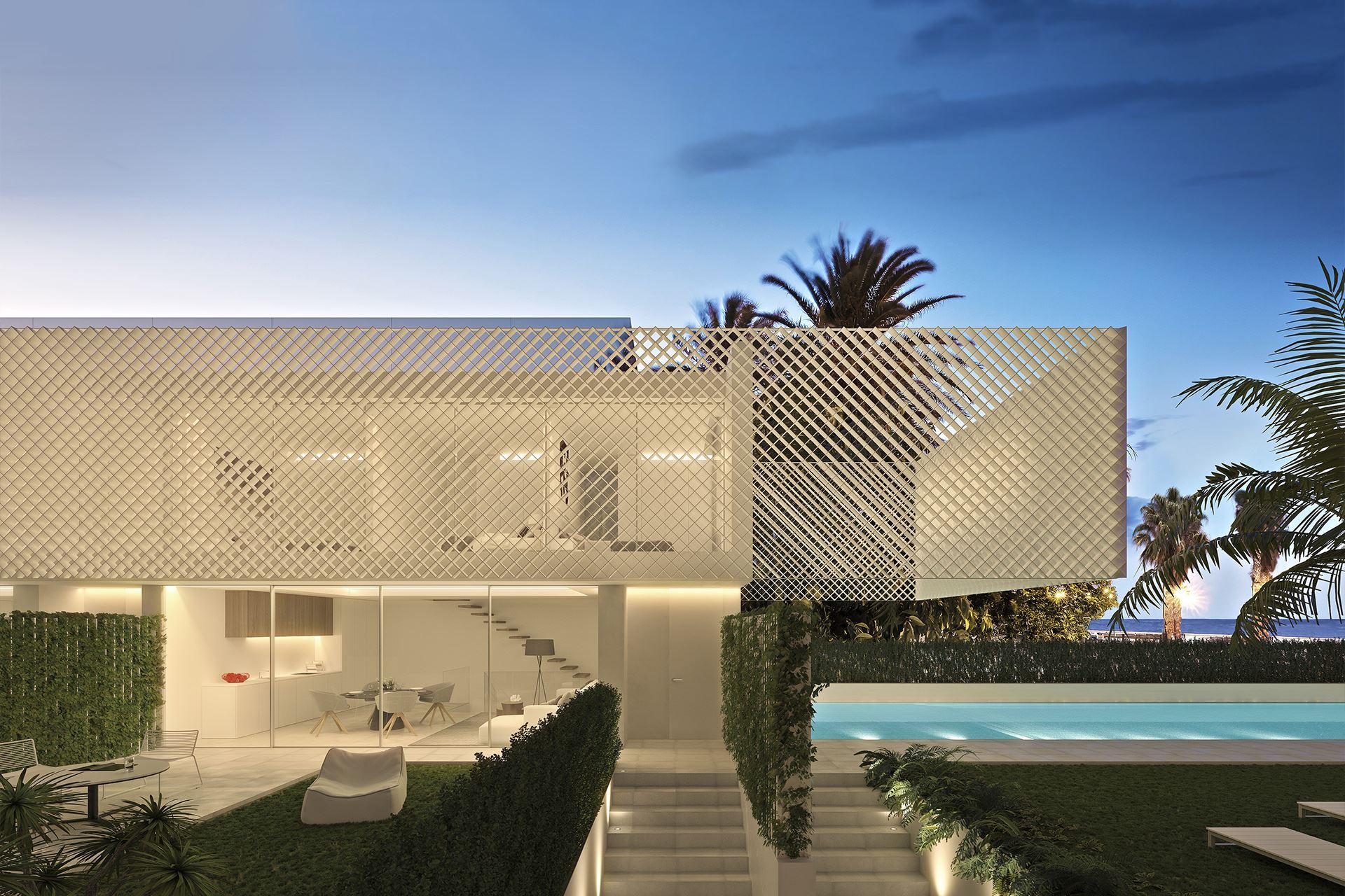 Arquitectos viviendas adosadas en la Malvarrosa