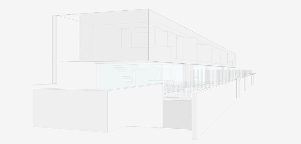 Proyecto de arquitectura viviendas adosadas