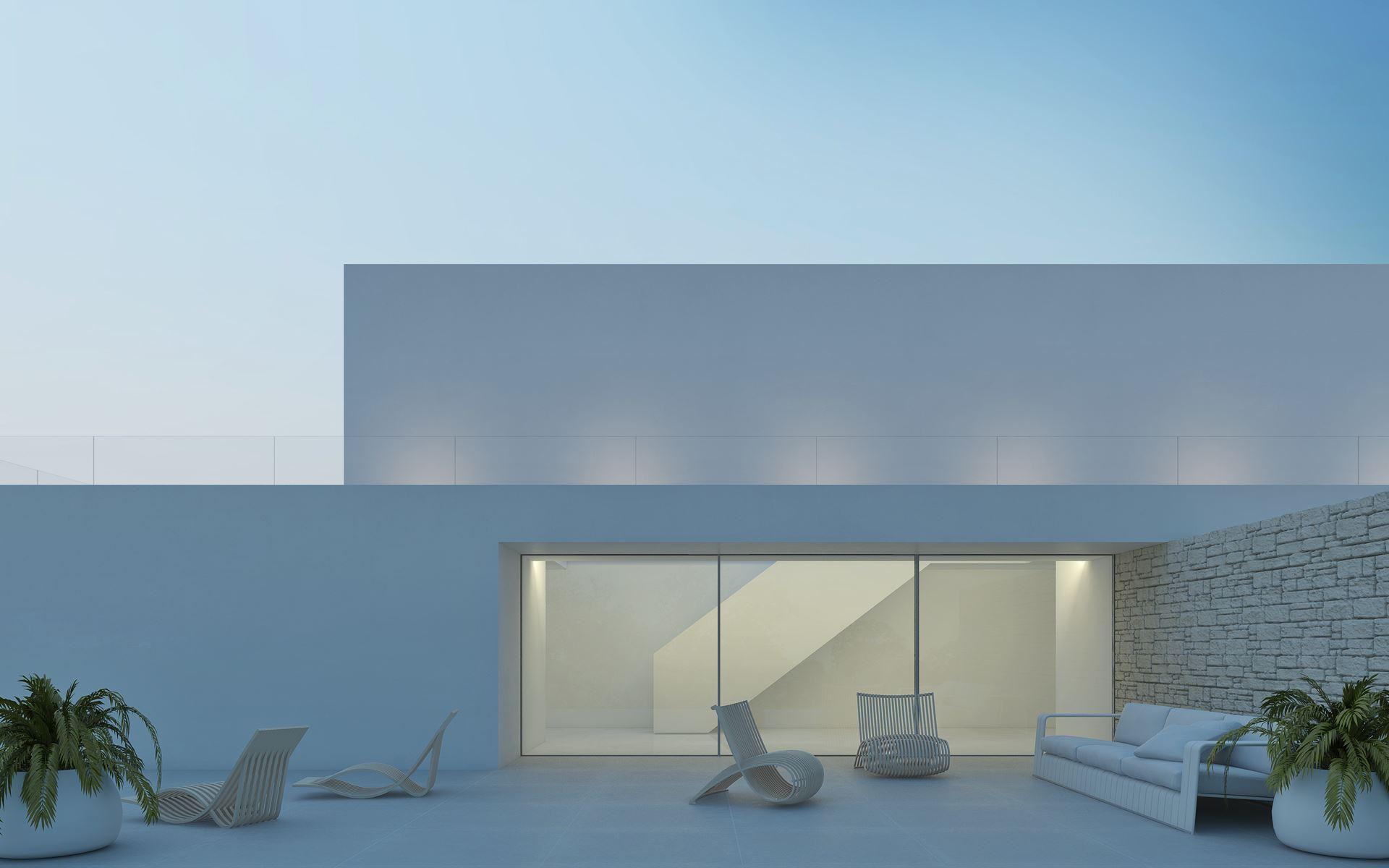 Proyecto vivienda en Ibiza