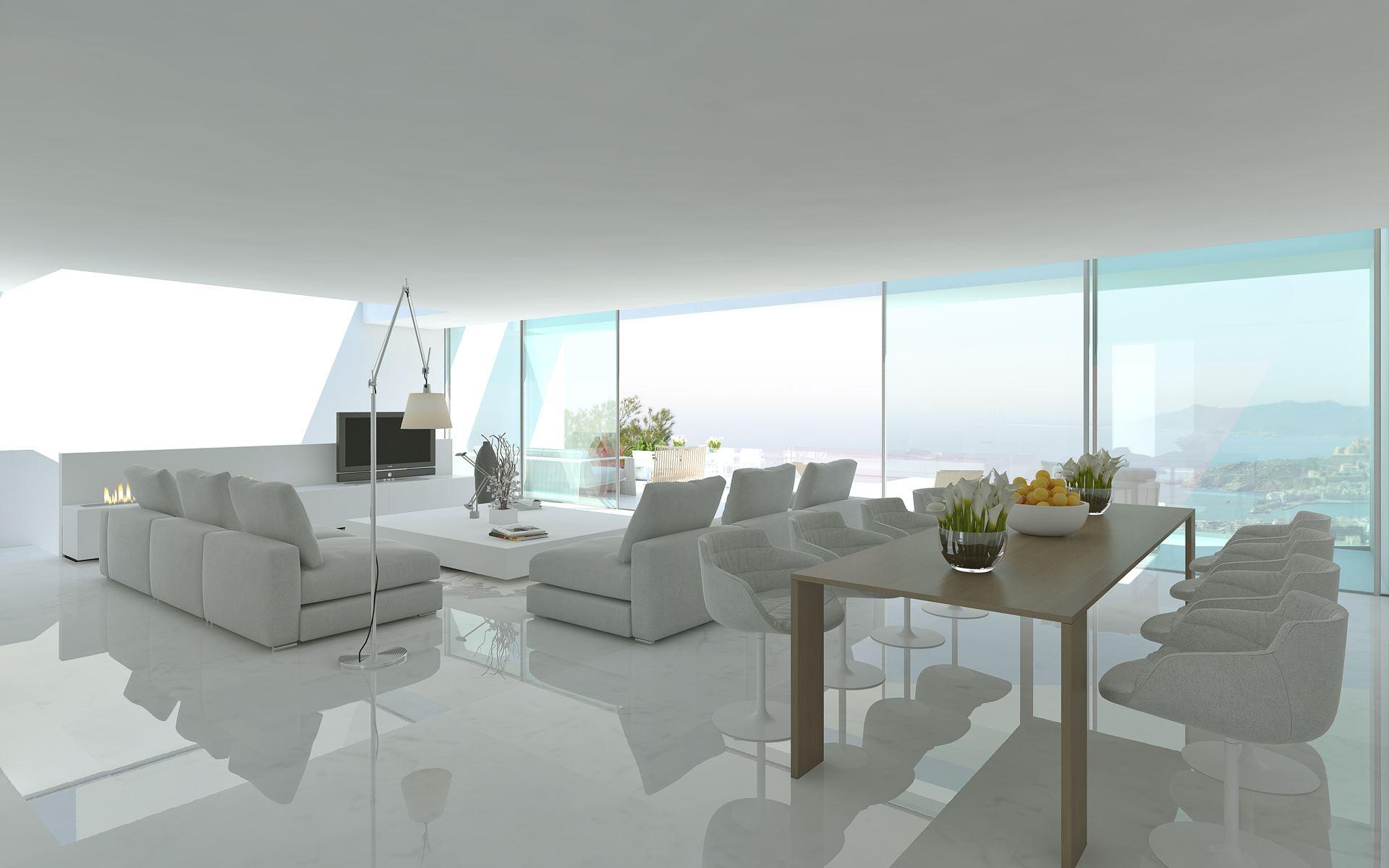 Arquitecto diseño vivienda en Ibiza