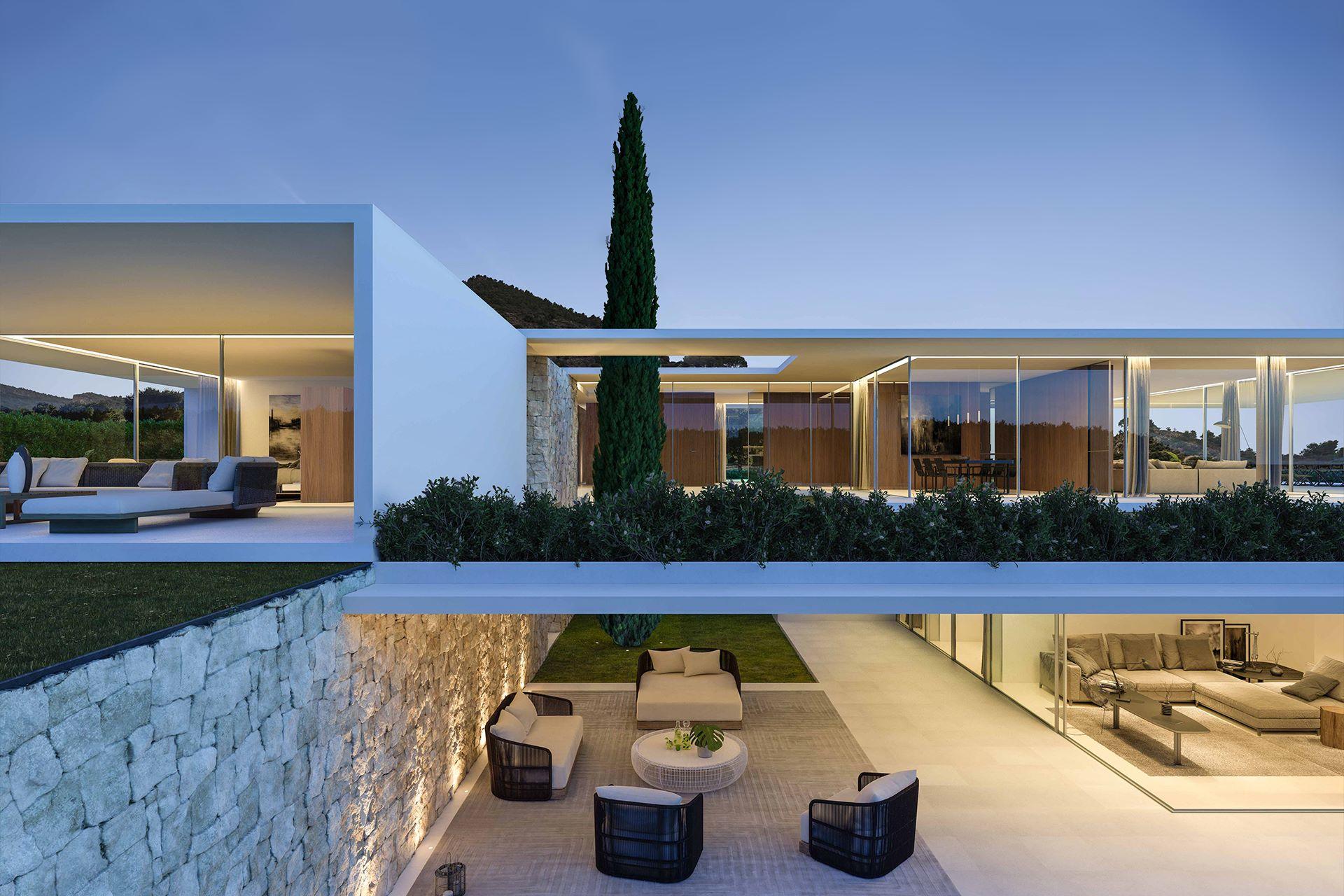 House in Los Monasterios - Gallardo Llopis Architects