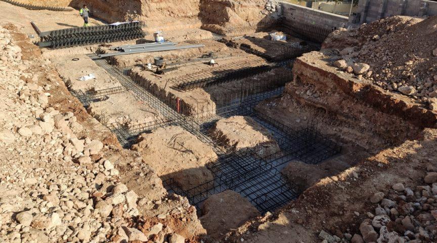Casa en Monte Alcedo - Cimentación - Arquitectos Valencia