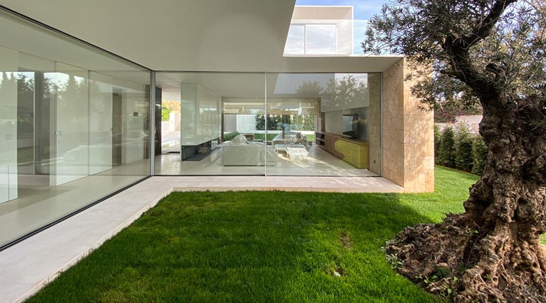 Casa en Santa Gertrudis - Entrada - Arquitecto Ibiza