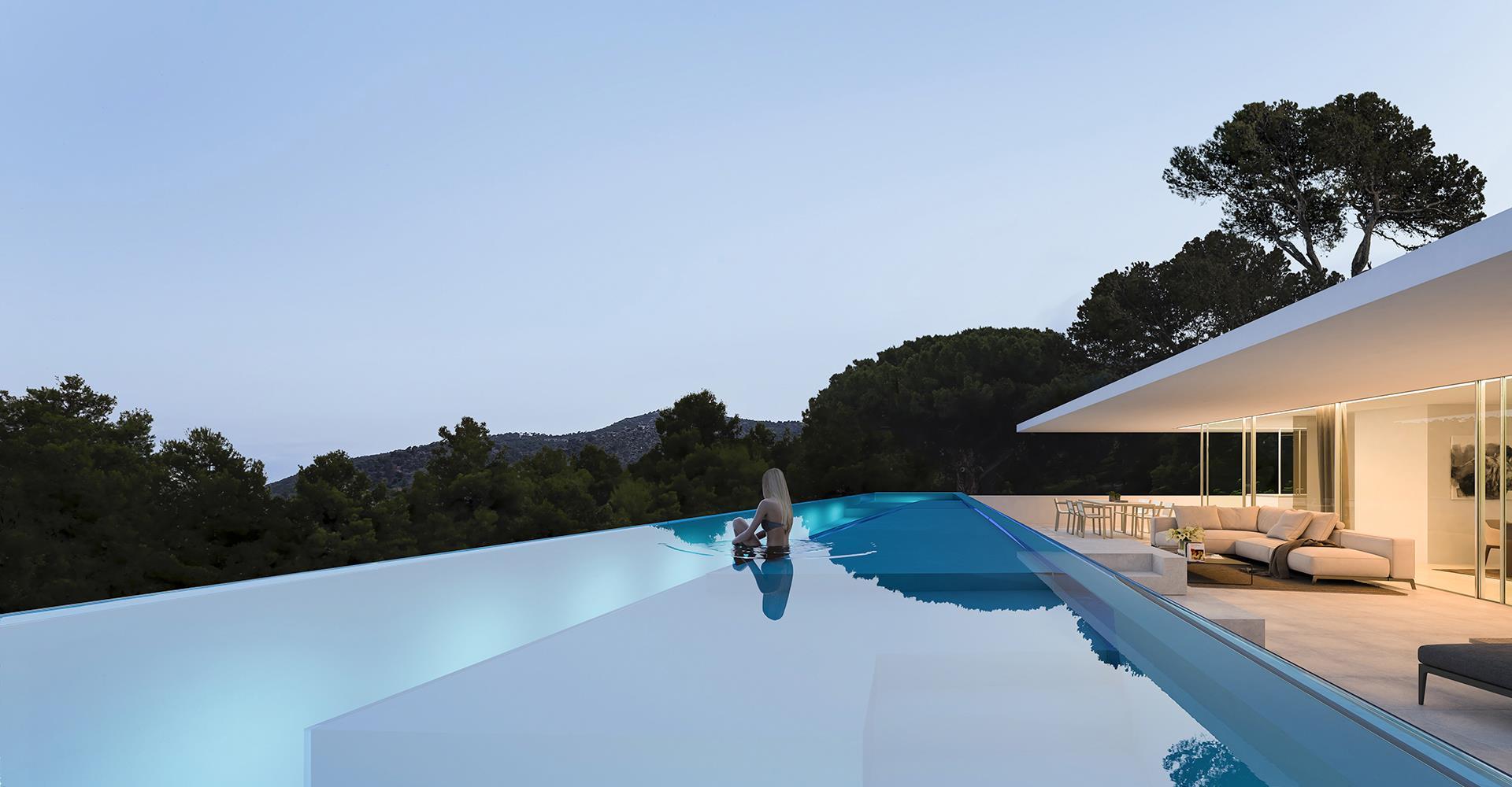 Architect house Ibiza