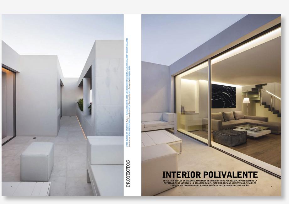 Publicacion Diseño Interior nº260 - Gallardo Llopis Arquitectos