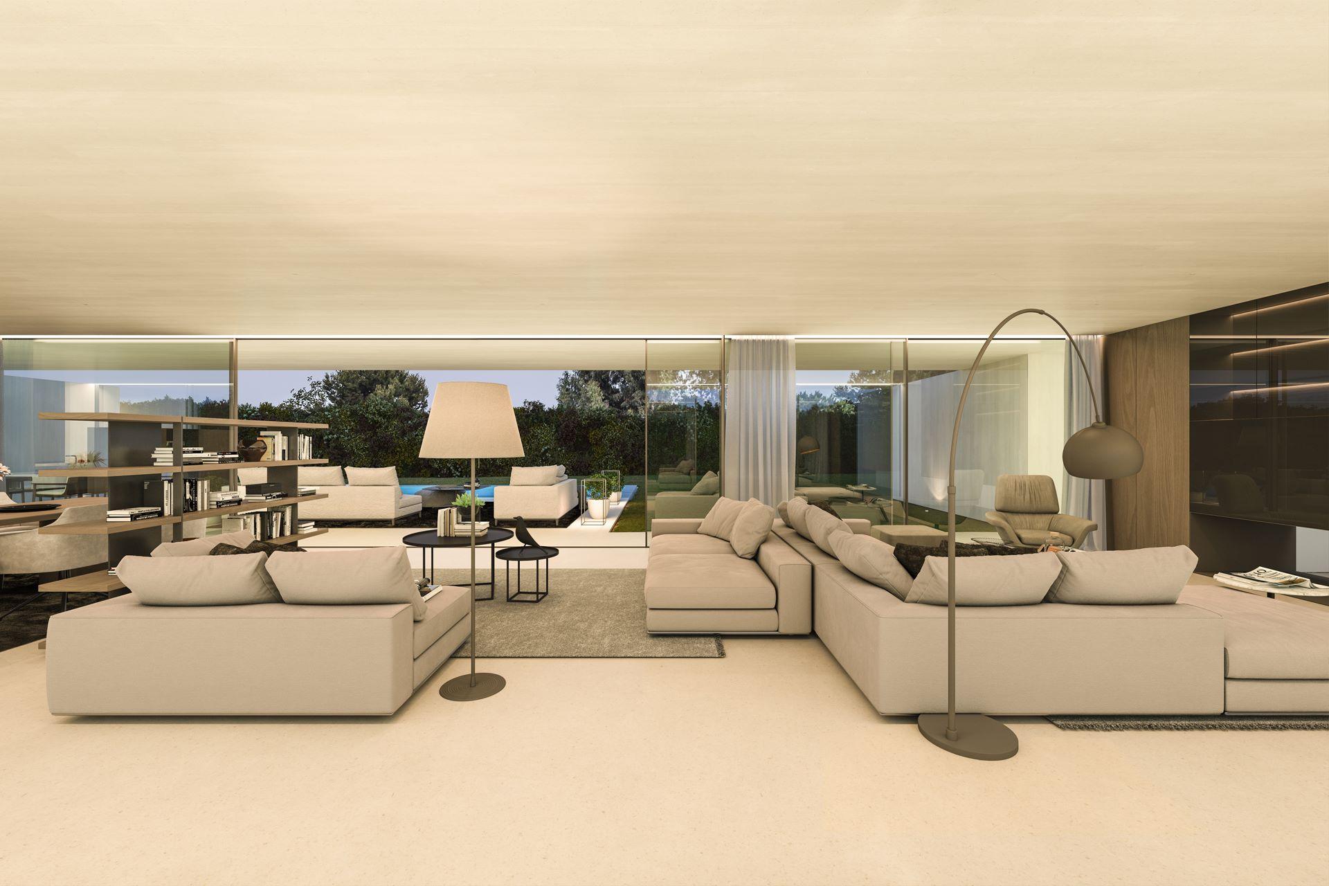 Interior vivienda moderno