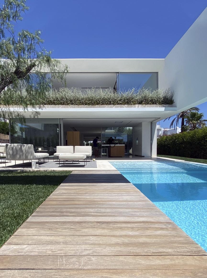 Reportaje fotografico vivienda en Ibiza