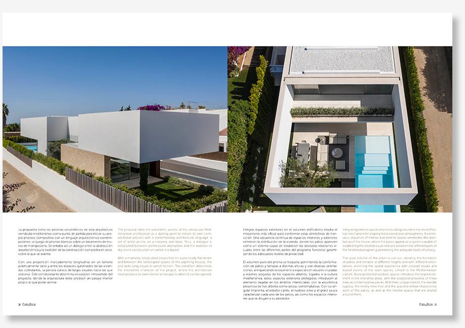 Publicación Class & Villas - Casa en Santa Gertrudis, Ibiza - Gallardo Llopis Arquitectos