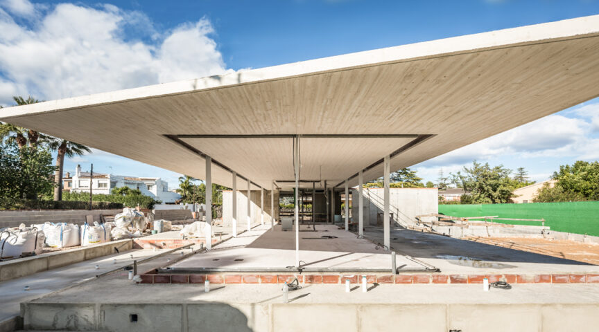 Reportaje de obra - Casa en Monte Alcedo, Ribarroja - Gallardo Llopis Arquitectos
