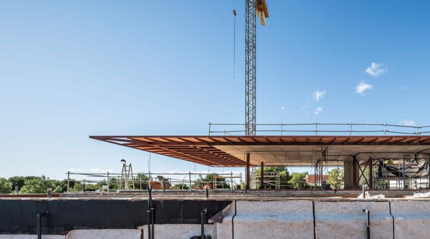 Reportaje de obra - Casa en Los Monasterios - Gallardo Llopis Arquitectos