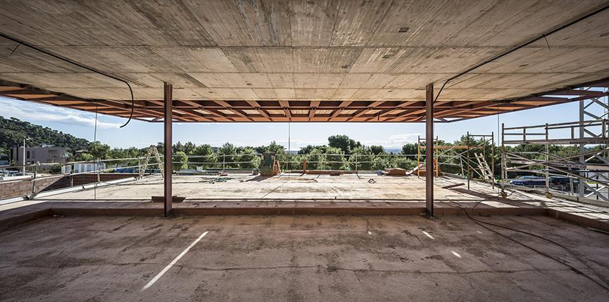 Diseño vivienda en la urbanización Los Monasterios - Gallardo Llopis Arquitectos