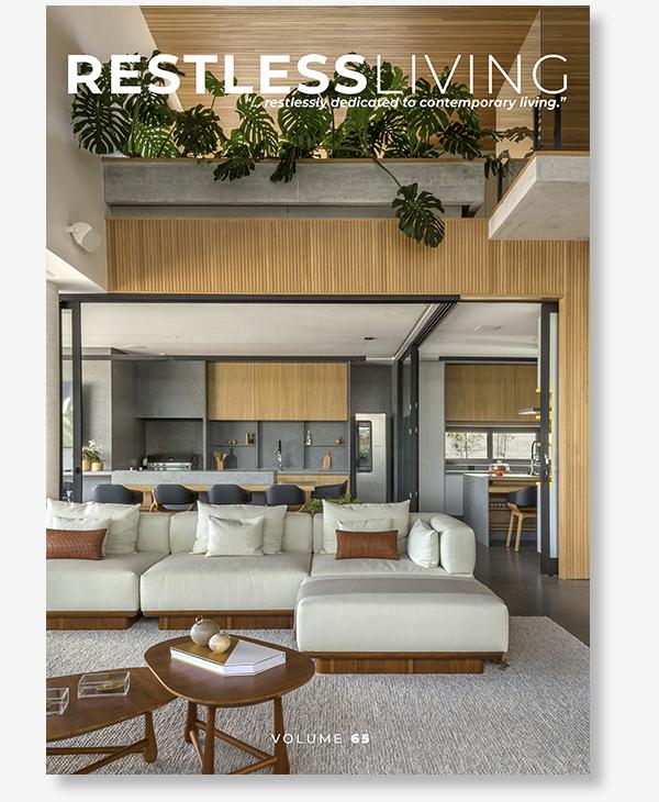 Publicación Restless Living - Casa en Ibiza - Gallardo Llopis Arquitectos